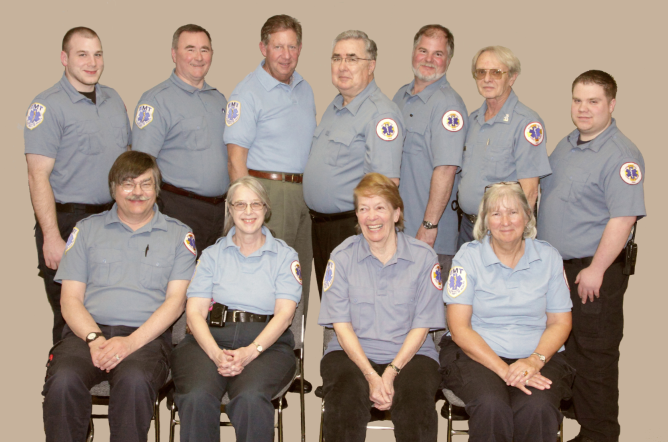 New officers for 2012