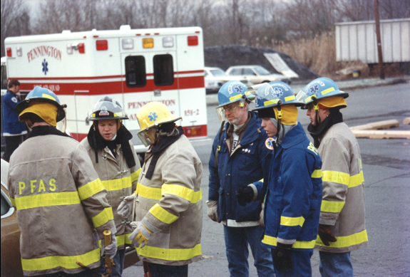 PFAS extrication drill 1974
